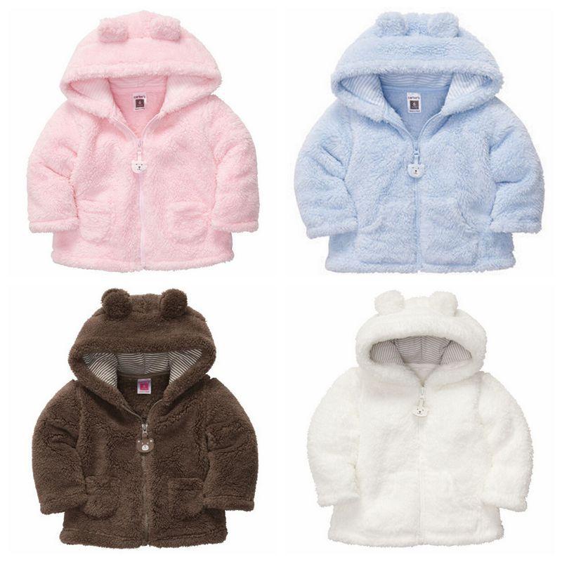 baby boy coats baby coat ! 2016 autumn winter hooded kids outerwear fashion fleece baby boy  girl VOTIBSB