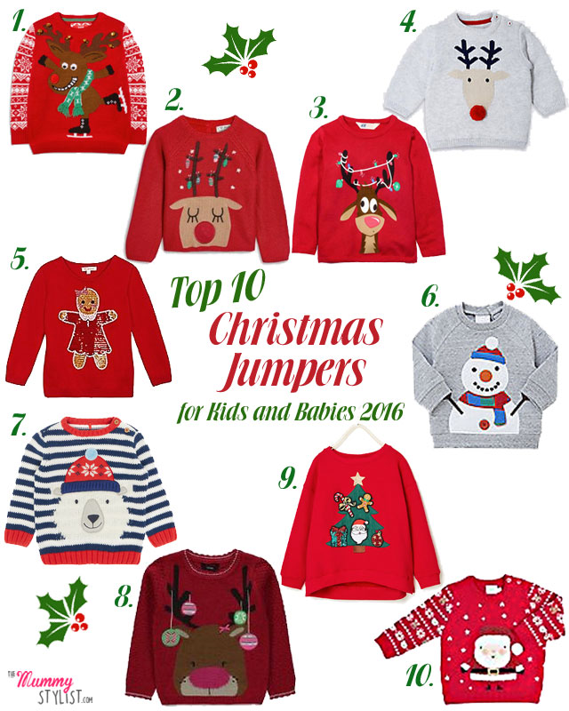 baby Christmas jumper top-10-christmas-jumpers-kids-babies-toddlers-2016 NPPMWOI
