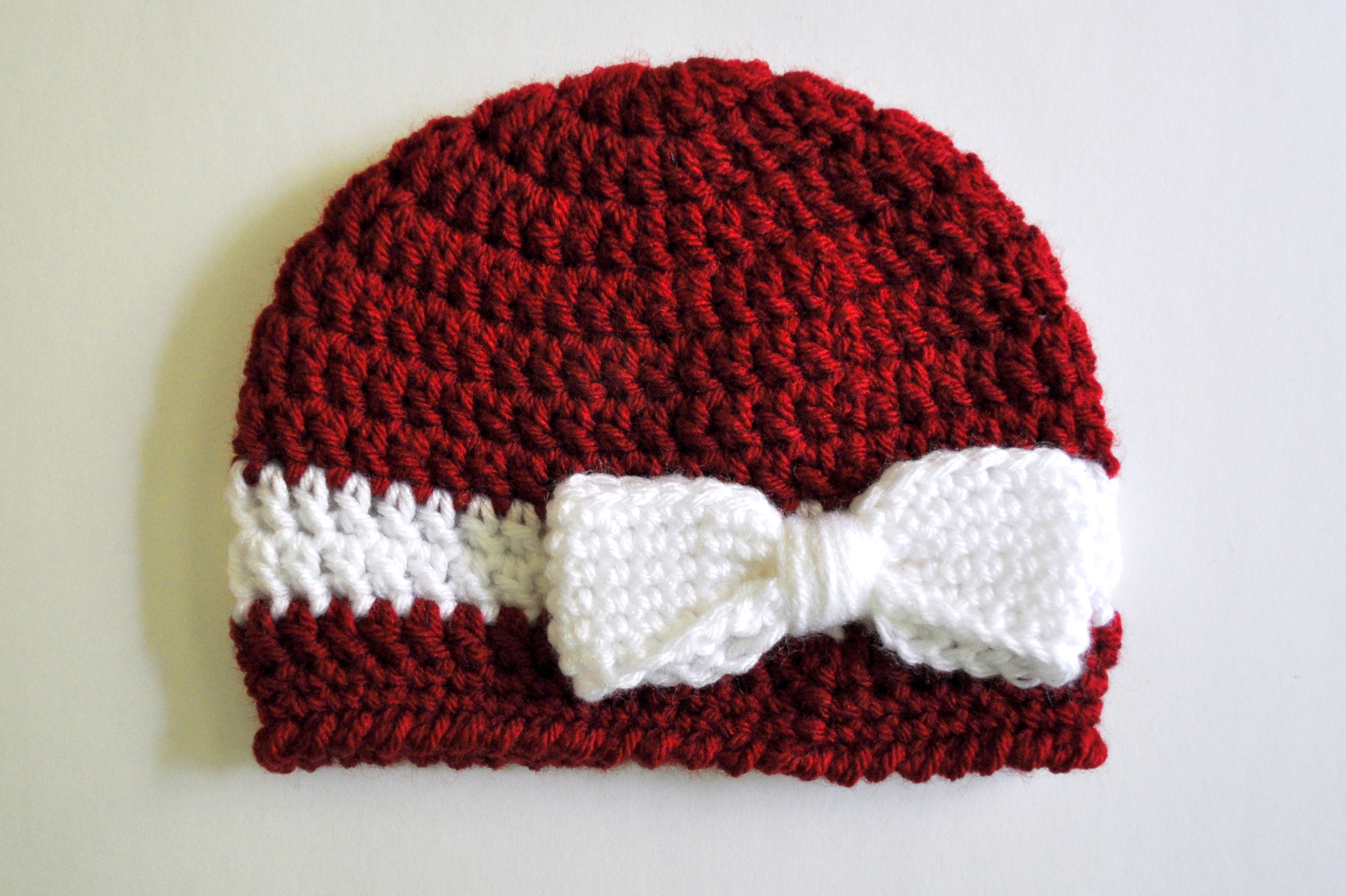 baby crochet hats crochet ribbon and bow baby hat pattern | classy crochet WXFLFJX