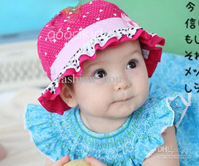 Baby Girl Hats 2018 new fashion baby girl u0027s sun hat and cap fishman hats for summer HLERNDH
