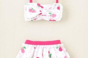 baby girl swimsuits baby girl swimwear cherry bow bikini swimsuit ($7.99) ❤ liked on polyvore JEYRKPN