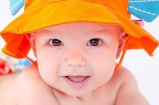 baby sun hats baby sun hat - fish BAFMOJU