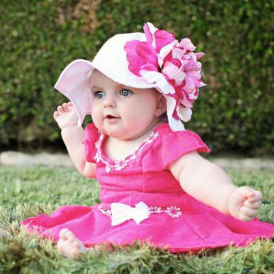 baby sun hats ... coconut sorbet baby girl sun hat XFEFMAK