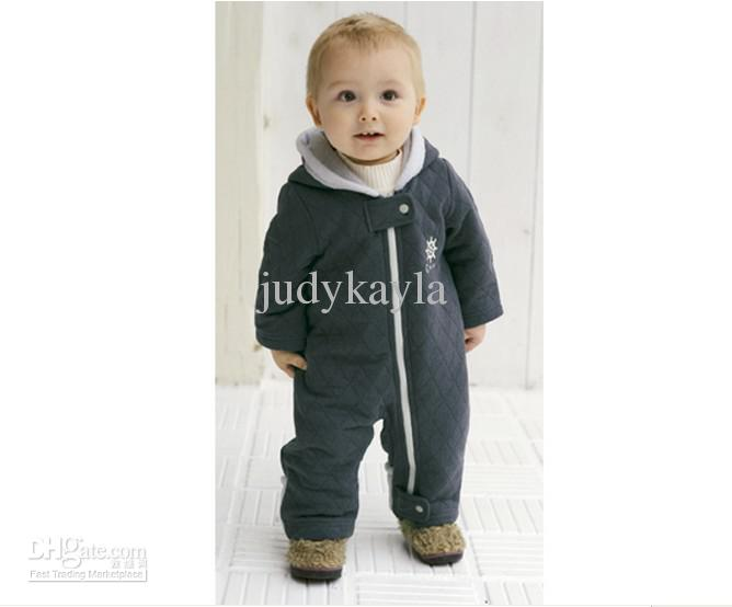 baby winter coats 2018 1 3year baby clothing infant clothes winter romper coats dot thicken  jasper cotton WPDELAR