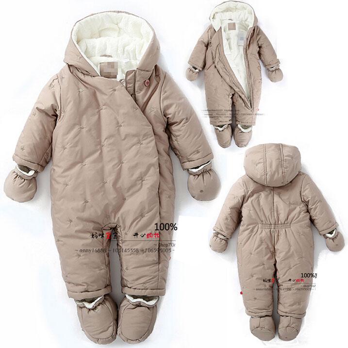 baby winter coats buy franch brand baby winter rompers 2015 new newborn girl flannel fleece  rompers thicken LSIPJLO