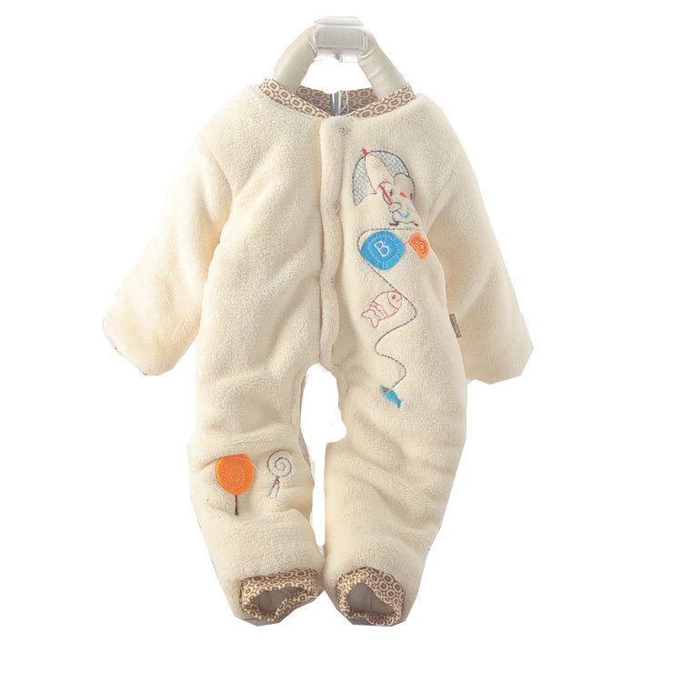 baby winter coats cotton padded jacket catsuit winter infant snowsuit winter  jackets for newborn RMAFOSY