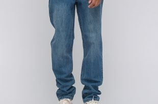 baggy jeans in indigo LMOWDRL