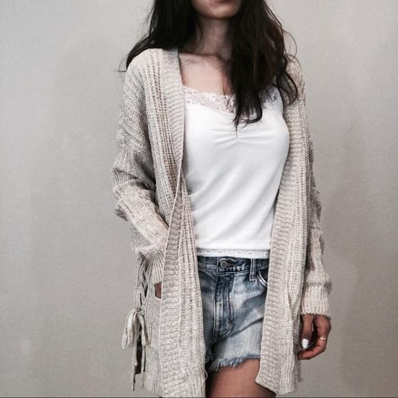 baggy sweaters brand new oatmeal twist baggy sweater cardigan KJXHBVU