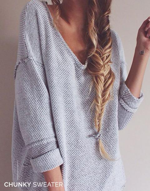 baggy sweaters like follow JSROFRB