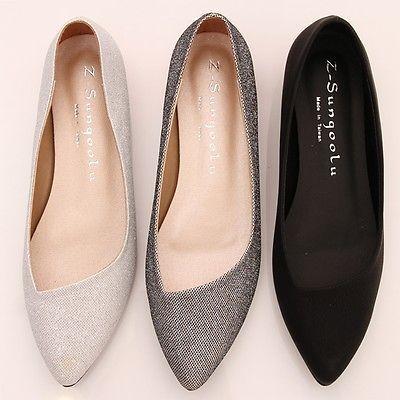 ballerina shoes bn-womens-low-kitten-heels-pointed-toe-bling-bling-ballet-flats-ballerina- shoes https://twitter.com/shoesegminfmn/status/895096133382356992 XAVTCIA