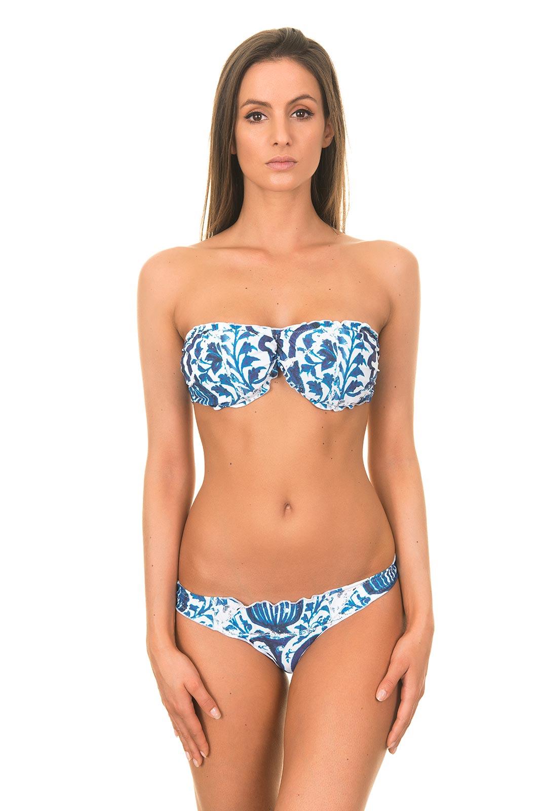 Bandeau Bikinis bandeau bikini - ruffle bandeau bikini marrakesh ... PDVCNQU