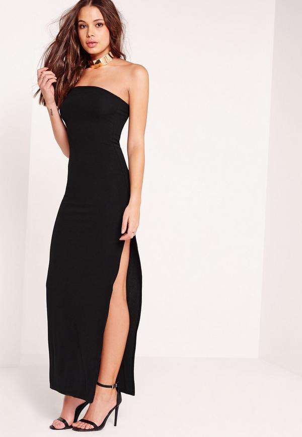 bandeau maxi dress black. $19.00. previous next SCENPCR