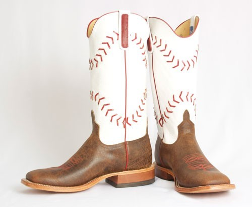 baseball boots kidu0027s baseball stitching tan boots by roper PQJSTBT