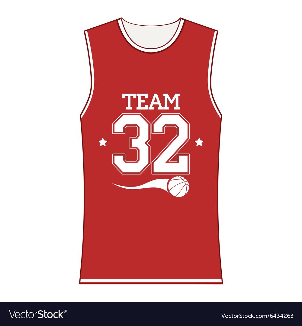 Basketball T shirts basketball t-shirt vector image IREONUZ