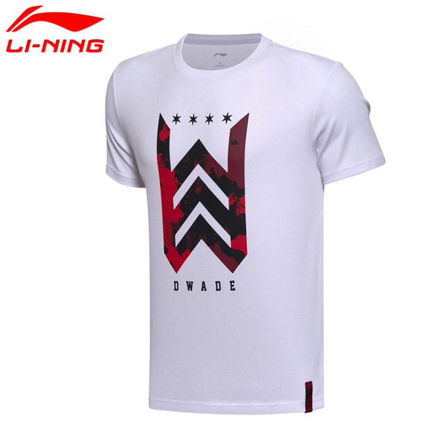 Basketball T shirts li-ning menu0027s wade basketball t-shirts short sleeve 100% cotton jersey  lining CWDHXIT