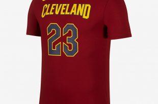 Basketball T shirts ... nike dry nba cavaliers (james) menu0027s basketball t-shirt AEWQHOR