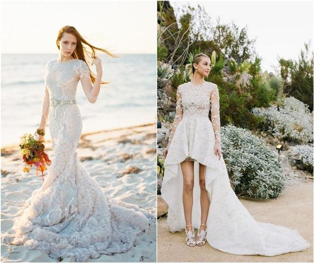 beach wedding dress beach wedding gowns and bridal dresses IGVJMRJ