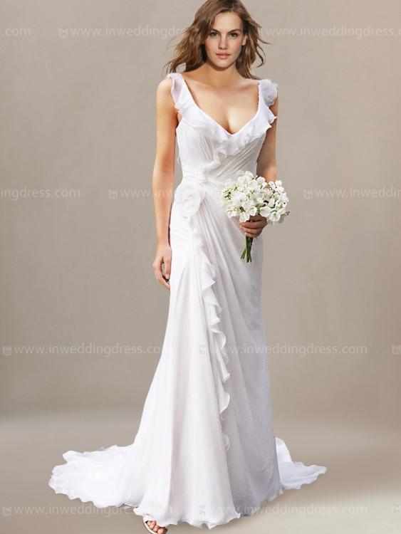 Beachy Wedding Dresses beach wedding dress MCGFRLO