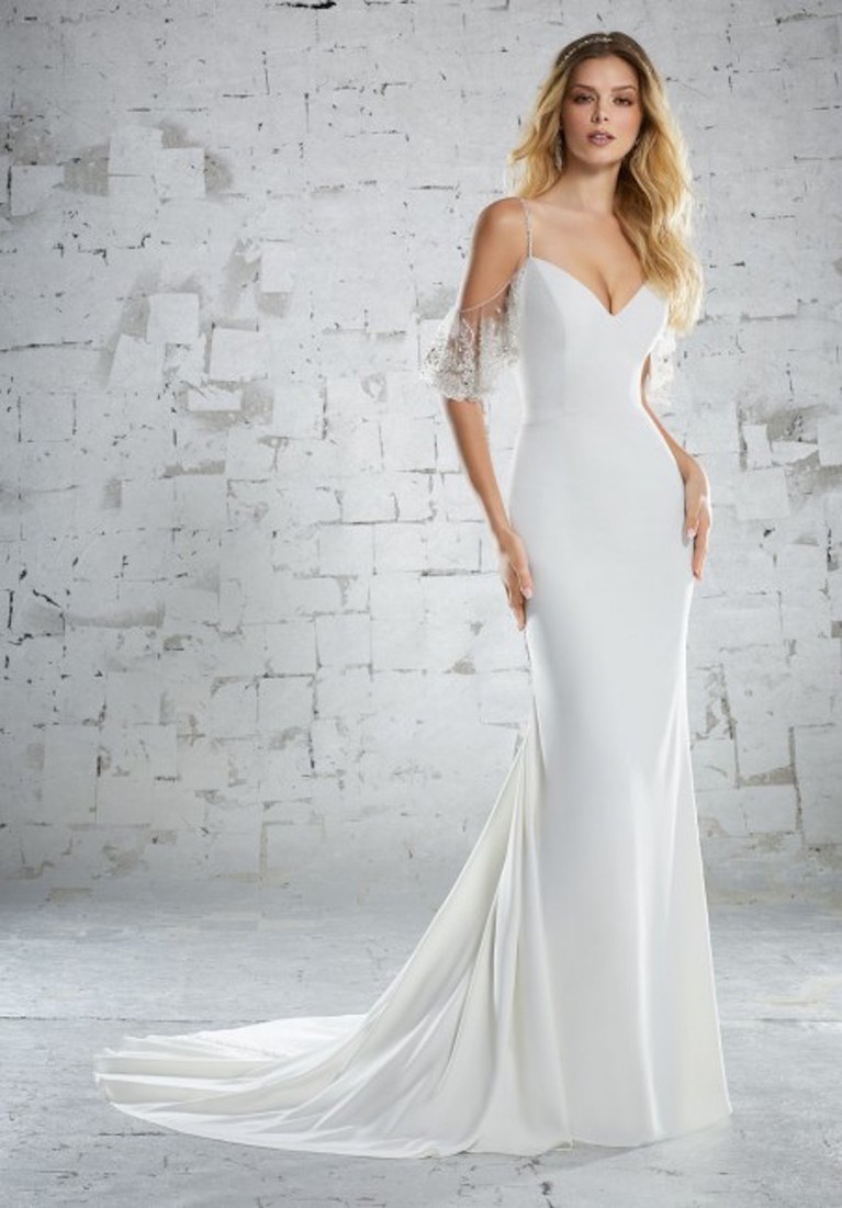 The Cool and Unique Beachy Wedding Dresses