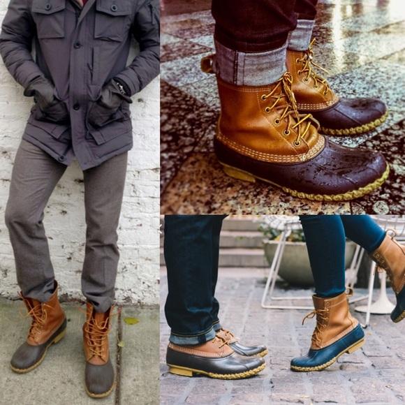 Bean boots ll bean boots mens 12 tlc duck boots vtg MWOJNIN