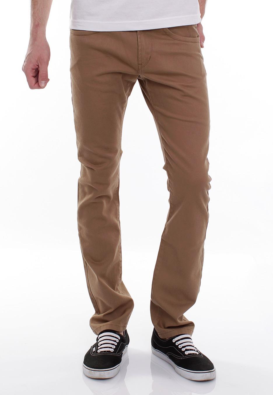Beige Jeans reell - rocket beige - jeans - impericon.com us FHWIJKN