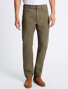 Beige Jeans straight fit jeans VPFMCSZ