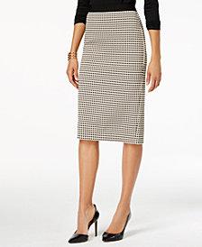 Beige Skirts alfani midi pencil skirt, created for macyu0027s WAEFFPY