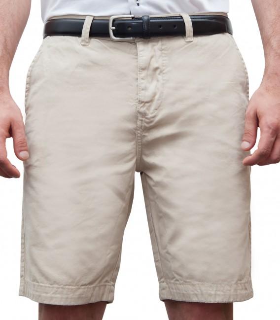 Bermuda Shorts bermuda shorts cotton plain colour beige JFKJIHR