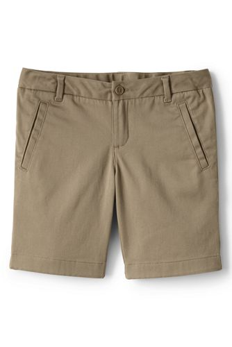 Bermuda Shorts school uniform girls stretch chino bermuda shorts ZBXXGIX