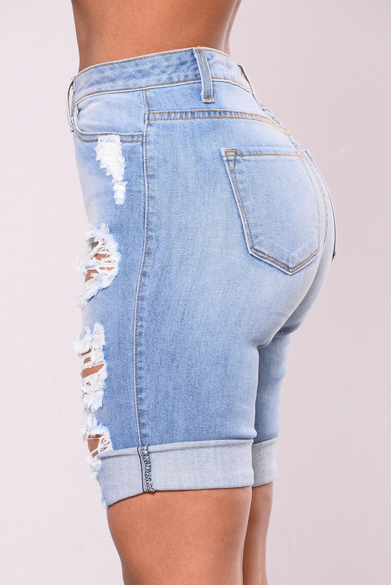 Bermuda Shorts shipwrecked bermuda shorts - denim blue IAXXSAY