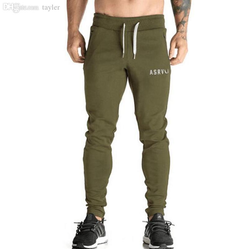 best wholesale asrv mens sport pants fitness running training fashion brand  pants men gym FGZWVBQ