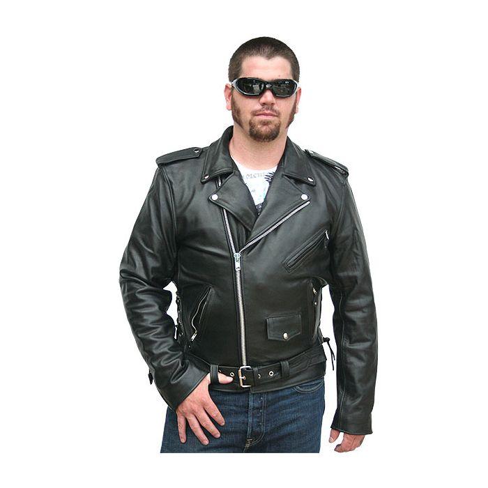 biker leather jackets motorcycle jackets - classic biker leather jacket WOATWTY