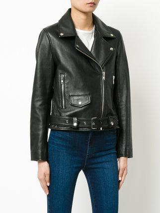 biker leather jackets ... nobody denim biker leather jacket KKNRTHH