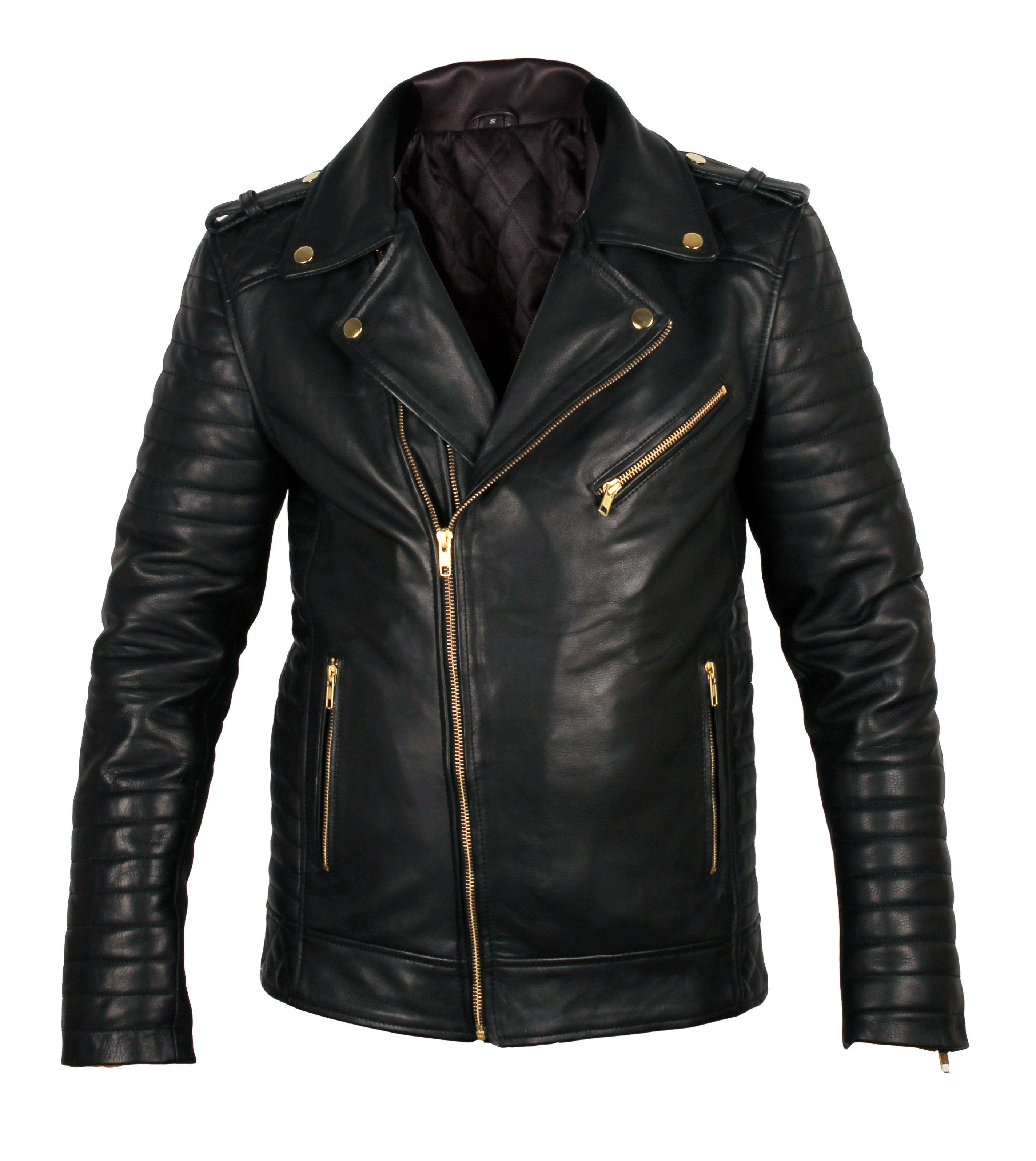 biker leather jackets quilted biker leather jacket ... CCUHCOG