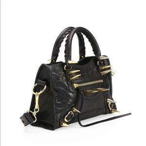 black bags bags - balenciaga small black bag 100% real new with tags TZQWZDN