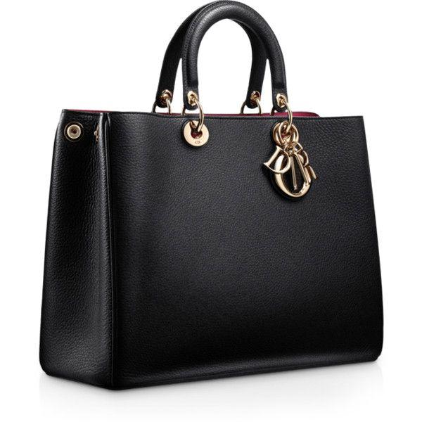black bags dior u0027diorissimou0027 large leather two handle black bag . the ultimate  MGGYHXJ