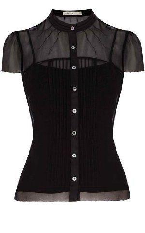 black blouses karen millen black blouse BKZJKSF