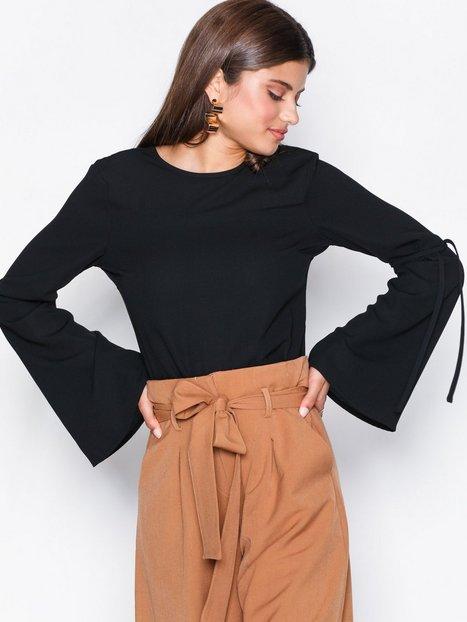 black blouses sleeve focus blouse VLQKZNI