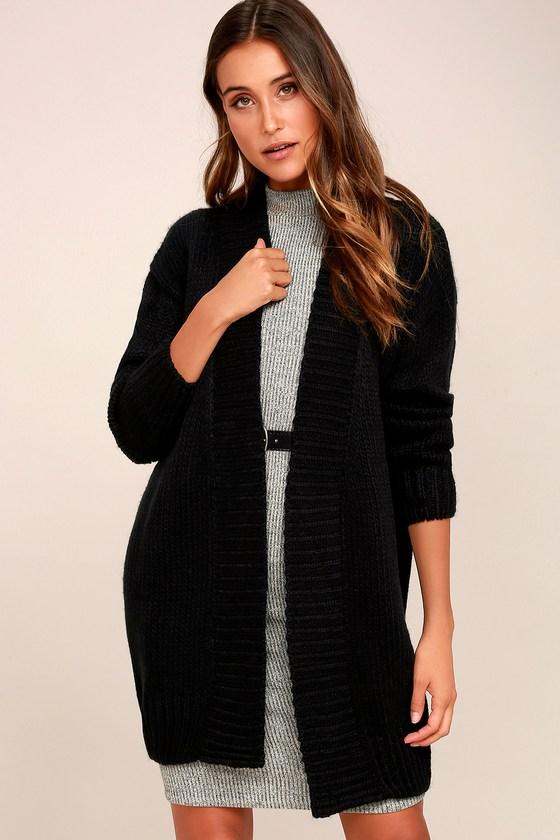 black cardigan sweater aberdeen black knit cardigan sweater EOMGHOA