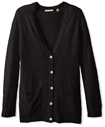 black cardigan sweater cashmere addiction womenu0027s button down boyfriend cardigan sweater, black,  ... TVCFWCU