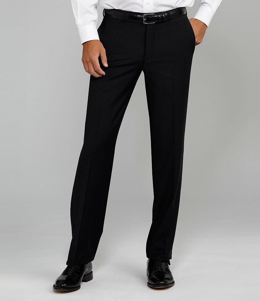 Black Dress Pants cremieux flat-front modern fit travel smart dress pants ENUXGWL