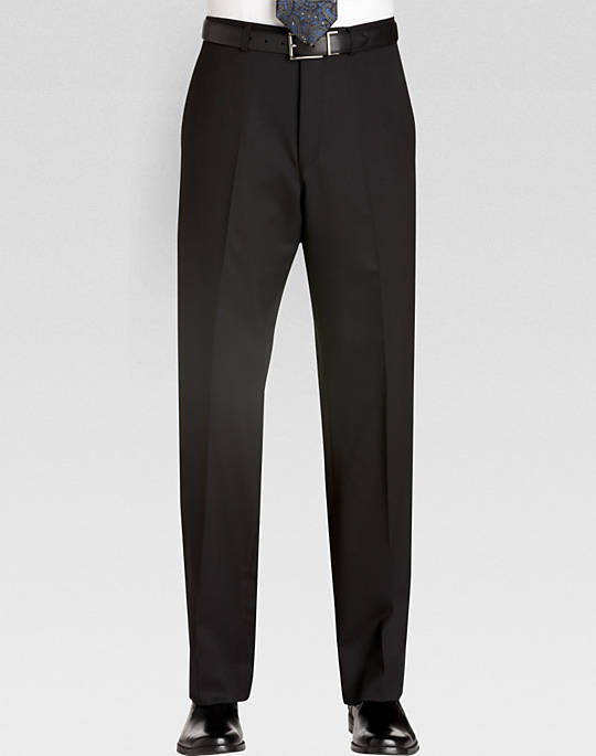 Black Dress Pants kenneth cole black slim fit dress pants - mens slim fit, pants u0026 shorts - BODAMWY