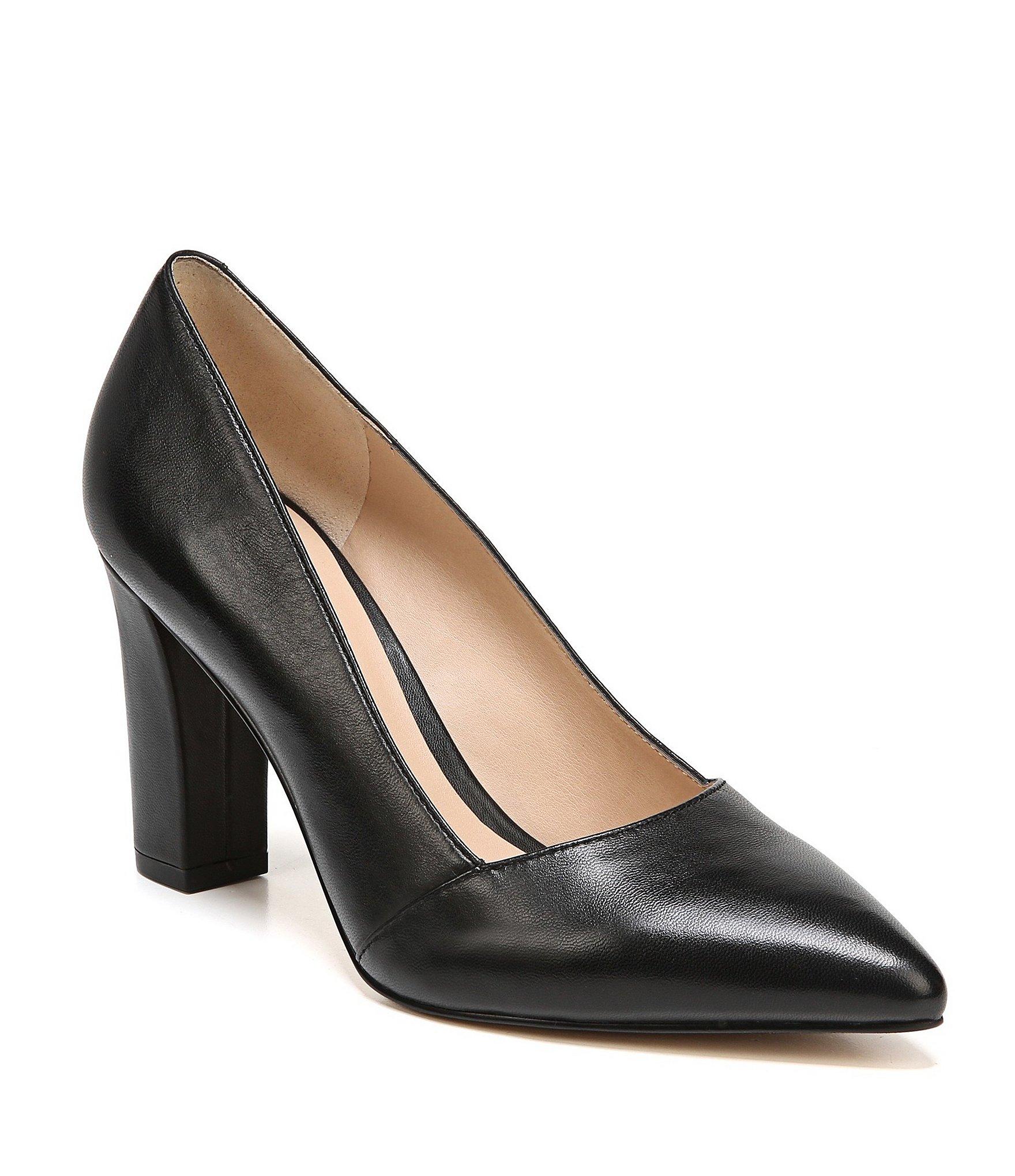 black high heel shoes womenu0027s high heel pointed toe pumps | dillards MTLZVDR