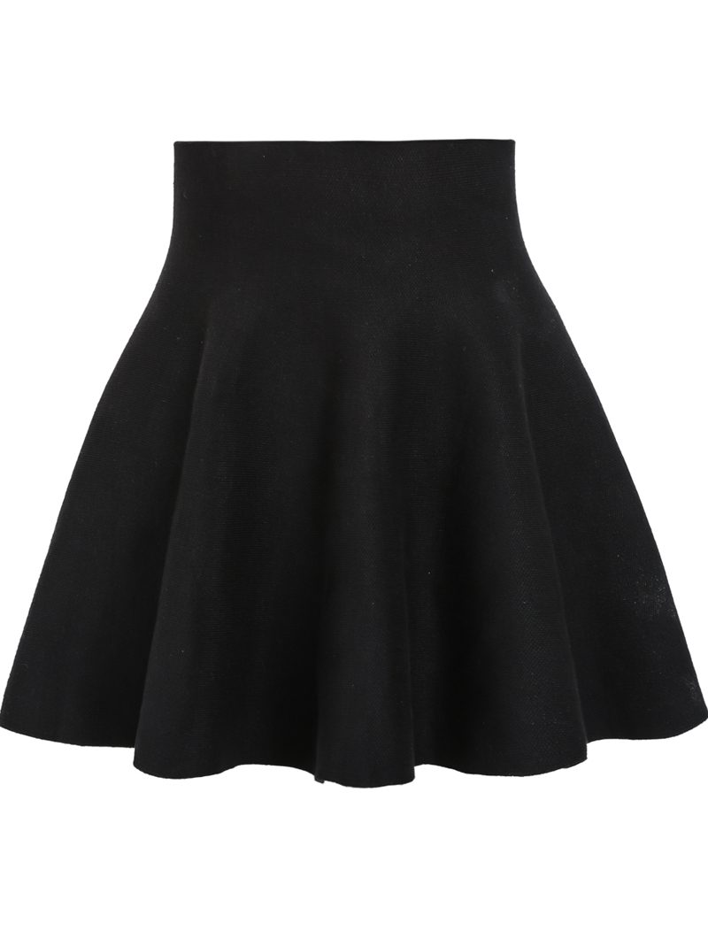 black high waisted skirt black high waist ruffle skirt LEGHIEZ