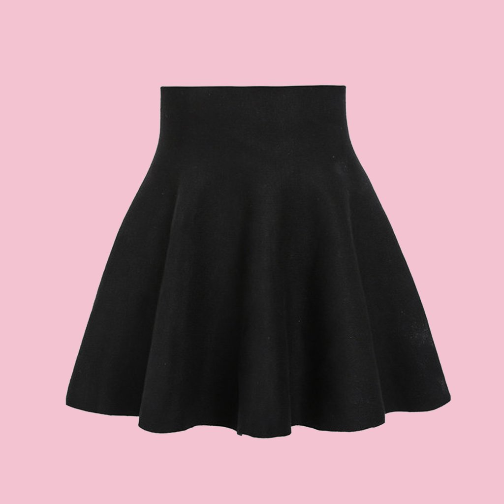 black high waisted skirt ... high waisted black skirt (xs to xl size available) ... HXBJNUY