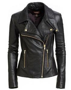 black jackets for women image is loading new-women-039-s-black-slim-fit-biker- MEUWOYL