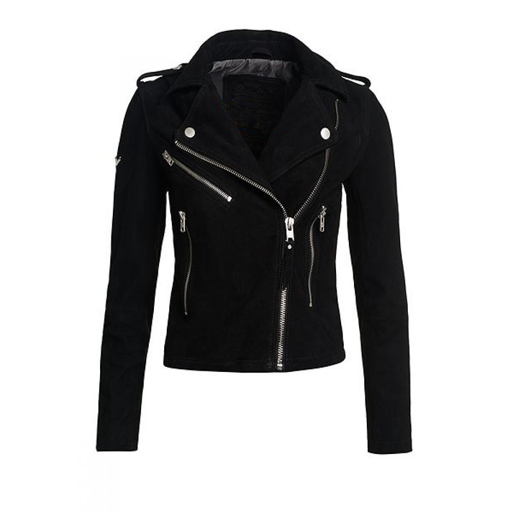 black jackets for women ladies black goat suede leather jacket. product code: 130. availability: in  stock EECSYCD