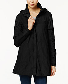 black jackets for women the north face flychute a-line jacket KKEIVSM