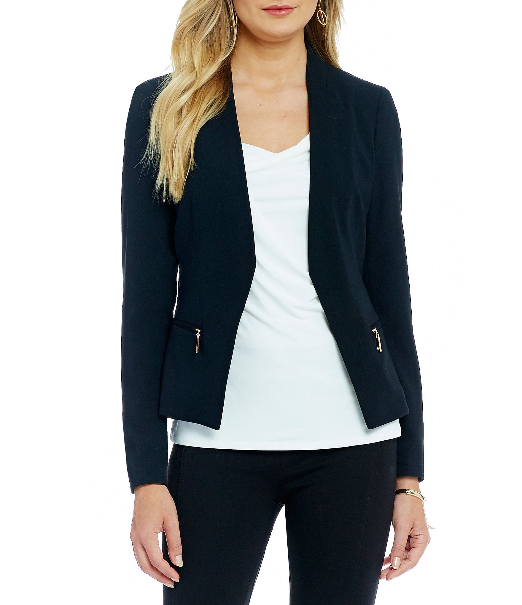 Get a stylish look while wearing black jackets for women