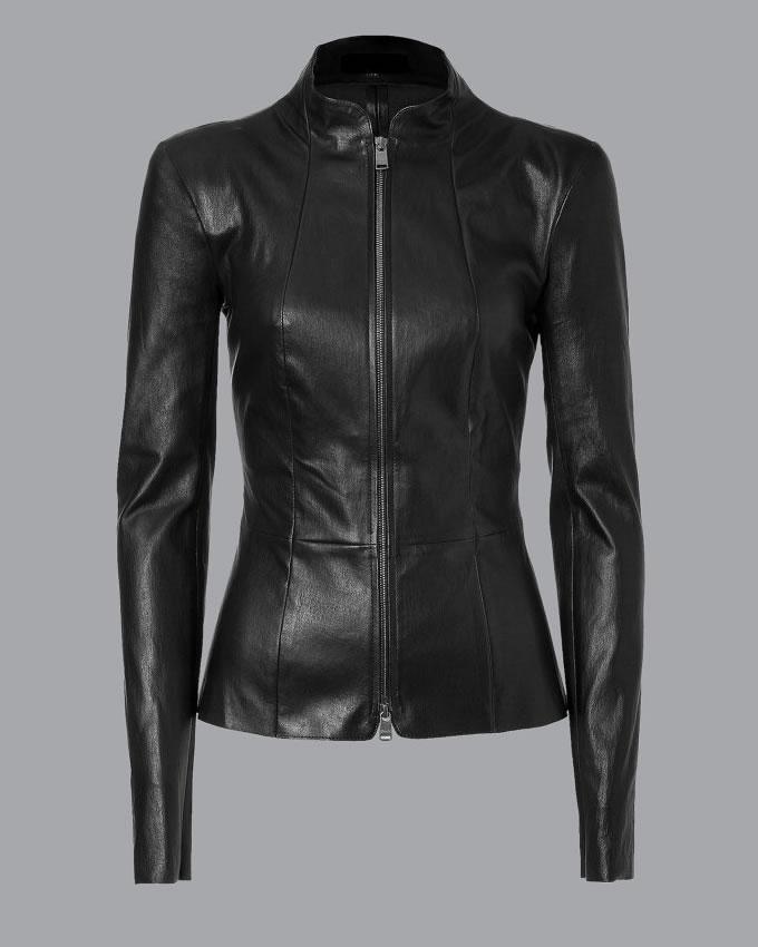 black jackets for women womenu0027s stylish black leather jacket GCTJCAR